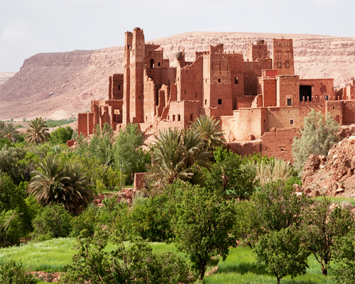 old kasbah of Ait ben haddou
